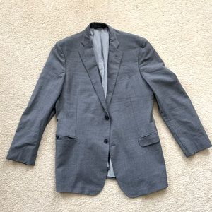 Brooks Brothers Explorer Fitzgerald Fit Gray 44L